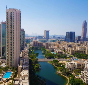 Servied Monthly Apartments in The Greens & Views Dubai