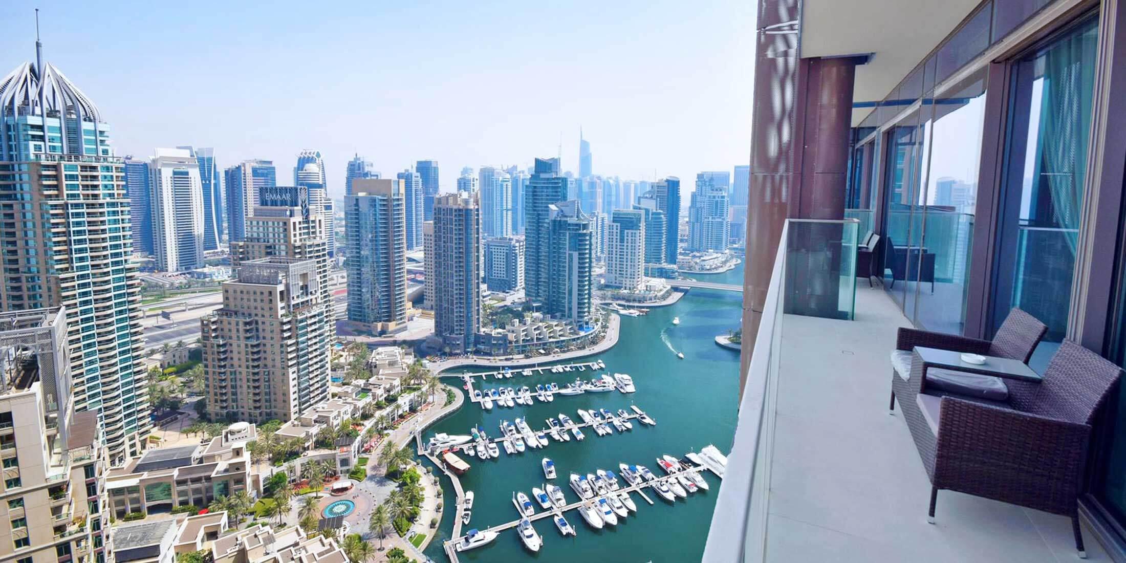 Serviced Holiday Apartments in Dubai Marina
