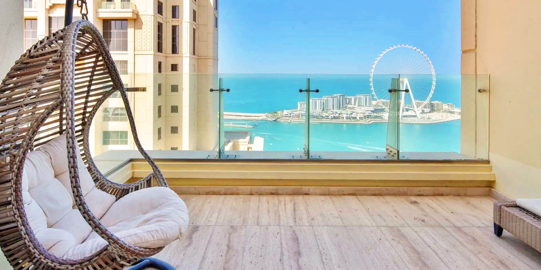 Serviced Holiday Apartments in JBR